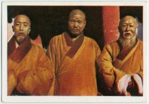Priester aus dem Tempel der 10,000 Zeitalter.