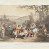 Scène de l'Opera, La tarentelle (Étoile de Messine)
