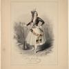 Lucile Grahn-Young (facs. sig.) als Catharina in dem Ballet Die Tochter des Banditen.