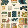 Patterns of Egyptian ceilings.