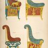 Fauteuils from the Tomb of the Kings, Thebes.