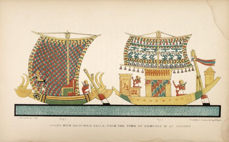 Manners and customs of the ancient Egyptians, including their private life, government, laws, art, manufactures, religions, and early history (...) <br> Sir Wilkinson. 1837