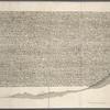 Greek script on the Rosetta stone.