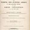Reise zum Tempel des Jupiter Ammon, ... [Title page]