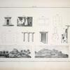 1-8. Ansichten und Details ammonischer Katakomben, ... ; 9. Eine Giraffe mit einem Cerkopithekus; 10. Der Katakombenberg Gara-el-Mota-Schargiah zu Siwah; 11. Ein anderen Katakombenberg bei der Ruine Bel-del-Rum.