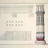 Der Porticus des Hermestempels zu Aschmounin, dem alten Hermopolis Magna.