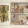 1. Osiris, Isis und Buto; 2. Anbetung der heiligen Kuh der Venus; 3. Menuthis spendet Wasser des Lebens.