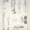 1. a, b. Eine aus Holz geschnitzte weibliche Gestalt, in der einem Hand einen Stengel des öfter bemerkten schilfartigen Grases haltend ... ; 2. Eine gleichfalls aus Holz geschnitzte mänliche Gestalt, ... ; 3. Eine eherne Figur von ausgezeichneter Schönheit des Gusses, ... ; 4. Ein geschnitztes Mumienbild des Osiris, ... ; 5. Ein Stab mit dem geschnitzten Kopf einer Katze, ... ; 6. Ein ehernes Sistrum, ... ; 7. Ein hölzernes Amulet; 8. a,b,c. [Ein hölzernes Krug mit hieroglyphischen Inschriften]; 9. a,b. Ein ehernes Wassergefäss mit eingegrabenen Figuren und Hieroglyphen; 10. ... kleine Mumie ... ; 11. Ein hölzernes Geräth, auf dem häufig der Kopf der Mumien ruht. ...