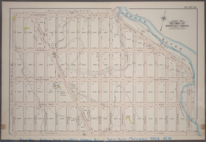 Plate 18: Part of Section 10, Borough of the Bronx. [Bounded by  Spofford Avenue, Edgewater Road, Viele Avenue and Coster Street.]
