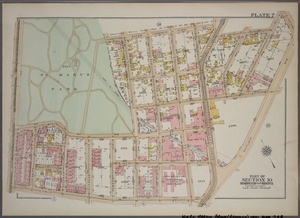 Plate 7, Part of Section 10, Borough of the Bronx. [Bounded by E. 147th Street, Southern Boulevard, E. 147th Street, Austin Place, 149th Street, Whitlock Avenue, E. 141st Street and (St.Mary's Park) St. Anns Avenue.]