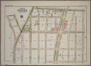 Plate 18, Part of Section 9, Borough of the Bronx. [Bounded by E. 169th Street, Grant Avenue, E. 166th Street and Shakespeare Avenue.]