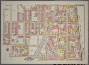 Plate 19, Part of Section 9, Borough of the Bronx. [Bounded by E. 167th Street, Third Avenue, E. 163rd Street and Morris Avenue.]