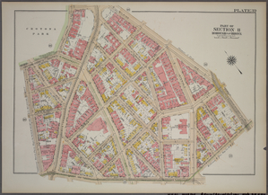 Plate 39, Part of Section 11, Borough of the Bronx. [Bounded by Clinton Avenue, Crotona Park South, Crotona Park East, Wilkins Avenue, Southern Boulevard, Home Street and E. 169th Street.]