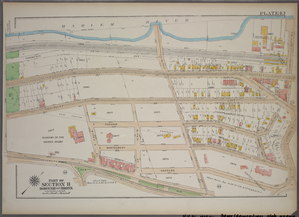 Plate 43, Part of Section 11, Borough of the Bronx. [Bounded by West Tremont Avenue, Andrews Avenue W. 176th Street and University Avenue.]