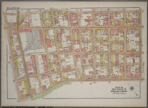 Plate 52, Part of Section 11, Borough of the Bronx. [Bounded by E. 181st Street, Mapes Avenue, E. Tremont Avenue, and Bathgate Avenue.]