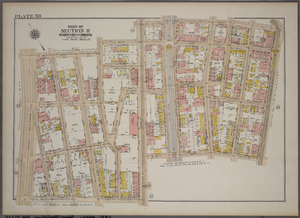 Plate 58, Part of Section 11, Borough of the Bronx. [Bounded by E. 183rd Street, Webster Avenue, E. 184th Street, Third Avenue, E. 181st Street, Webster Avenue, E. 180th Street and Grand Boulevard.]