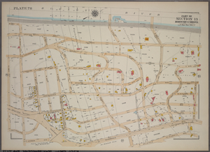 Plate 78, Part of Section 13, Borough of the Bronx. [Bounded by W. 235th Street, Netherland Avenue, 236th Street, Johnson Avenue, Riverdale Avenue, W. 246th Street, Delafield Avenue and W. 250th Street.]