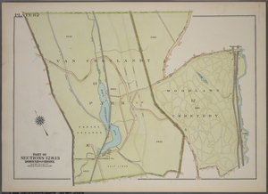 Plate 82, Part of Section 13, Borough of the Bronx. [Bounded by Broadway, Van Cortlandt Park South, Gun Hill Road, E. 211th Street, Webster Avenue, E. 233rd Street and Mt. Vernon Avenue.]