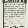 H.M.S. Queen Elizabeth.