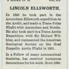 Lincoln Ellsworth.