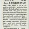 Capt. T. Neville Stack.