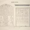 Monuments égyptiens. Stèles du régne d'Aménemhé III et de son successeur.