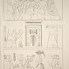Heptanomide. Bas-reliefs tirés des hypogées de Zawyet el-Mayetin et de Tell-Amarna.