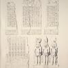 Basse Égypte. 1-3. Monolithe d'Abou-Seyfeh; 4,5. Monolithe d'Abou-Keycheyd.