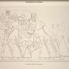 Nécropole de Thèbes. Amounoph 1-er porté dans son palanquin.