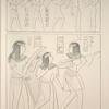 Nécropole de Thèbes. Jeux et danses.