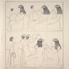 Nécropole de Thèbes. Peinture copiée dans un hypogée.