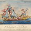 La Galère Capitaine de Malte entrant dans le grand port de la Vallette de retour de sa Croisiere.
