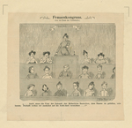 Frauenkongress [suffrage cartoon].
