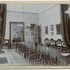 [National Association of Women Employees - View of the  formal dining hall, 1906.]