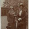 [Rosa Manus and Mia Boissevin, Holland, 1909.]