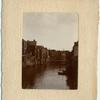 Dordrecht, Holland Congress, 1909. [View of a canal.]
