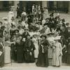 [Group photograph of delegates on the steps.]