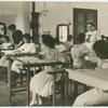 [Women in a classroom.]