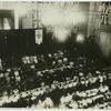 [View of Congress floor from above, showing attendees including Carrie Chapman Catt.]