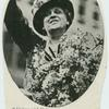 Mrs. Carrie Chapman Catt acknowledging the greetings of her admirers while on her way to the reception at the Waldorf after the suffrage victory in Tennessee