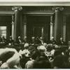 [Men's League for Women Voters sessions in Budapest. Dr. Drysdale in Chair.]