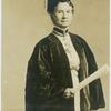 Dr. Belva A. Lockwood  [in a convocation robe], one of the twenty Peace Ambassadors of the Woman's Republic.