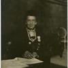 [Dr. Belva A. Lockwood portrait, at desk.]