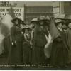 Suffrage procession [London].