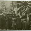 Suffrage Procession, October 7, 1911 [London].