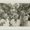 [Rosika Schwimmer, Harriet Stanton Blatch, and unidentified guest.]