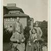 [Mien Palthe and family on the terrace of their house in Oldenzaal, Holland Sept. 1932/ Jan. 4, 1933.]