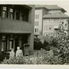 [Richard Palthe and Mien Palthe on their terrace, Sept. 1932.]
