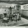 Oldenzaal, Huize't Kruisselt. [Palthe family home. View of the family room with fireplace.]