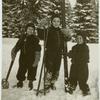 [Children on skis.]